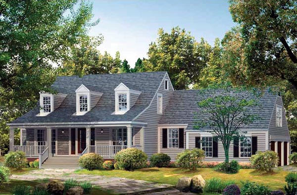 Country House Plan 95231 Elevation