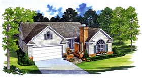 Traditional House Plan 95245 Elevation