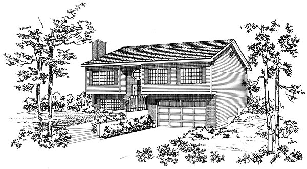 Contemporary House Plan 95259 Elevation