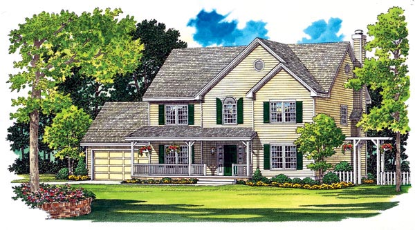 Country House Plan 95263 Elevation