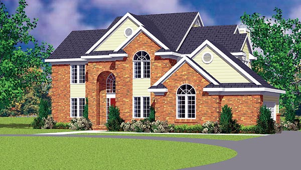 Traditional House Plan 95279 Elevation