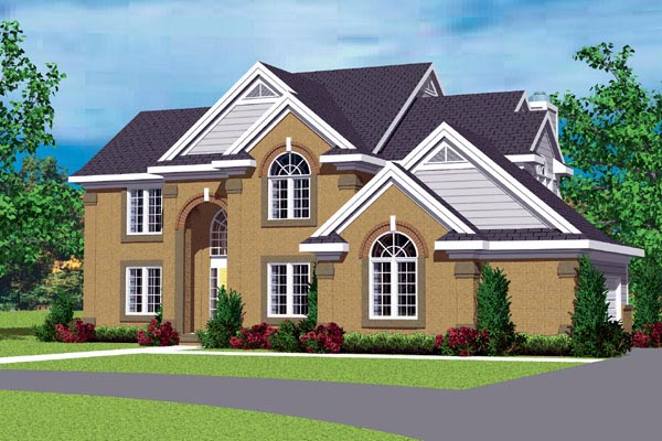Traditional House Plan 95280 Elevation