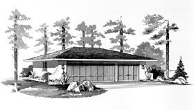 Garage Plan 95285 Elevation