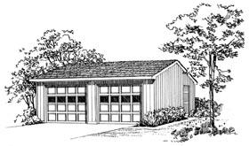 Garage Plan 95291