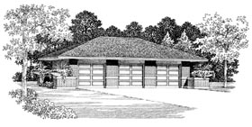Garage Plan 95296