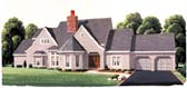 Plan Number 95502 - 3260 Square Feet