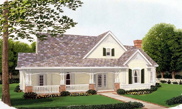 Country House Plan 95505 Elevation