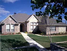 Craftsman European House Plan 95523 Elevation