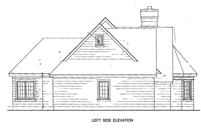 Cottage, Craftsman, One-Story House Plan 95526 with 3 Beds, 2 Baths, 2 Car Garage Picture 1