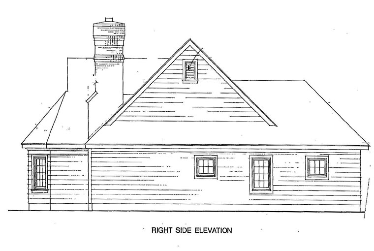 Cottage, Craftsman, One-Story House Plan 95526 with 3 Beds, 2 Baths, 2 Car Garage Picture 2