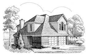 House Plan 95528 Elevation