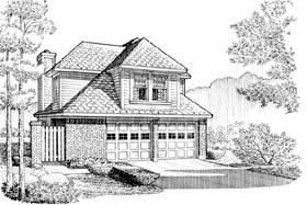 House Plan 95537 Elevation