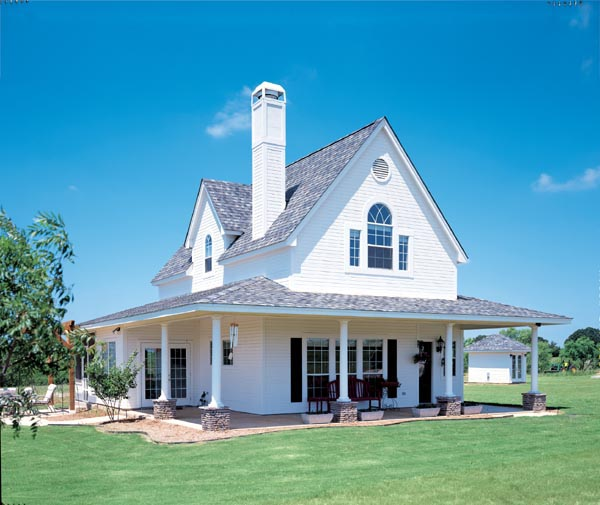 Farmhouse Plans floor plan House Plan 95541 At Familyhomeplanscom