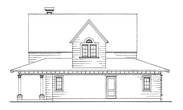 Cottage, Country, Craftsman, Farmhouse House Plan 95541 with 3 Beds, 2 Baths, 2 Car Garage Picture 5
