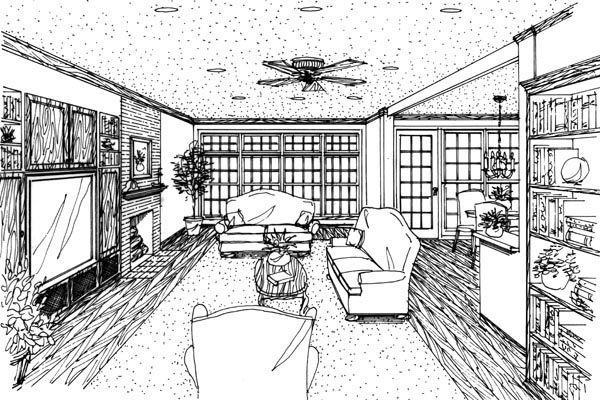 Country Farmhouse House Plan 95545