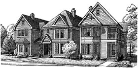 House Plan 95557 | Country Victorian Style Plan with 1755 Sq Ft, 2 Bedrooms, 3 Bathrooms, 2 Car Garage Elevation
