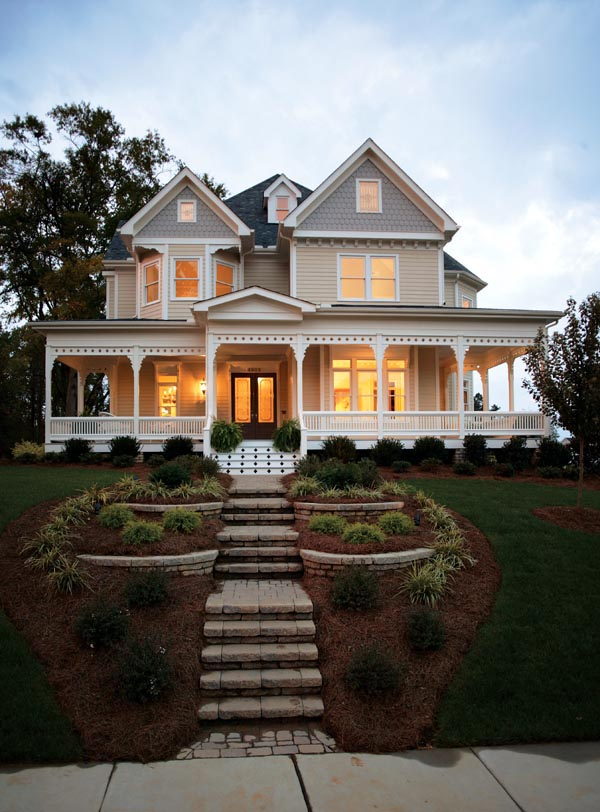House Plan 95560 Victorian Style With 2772 Sq Ft 4