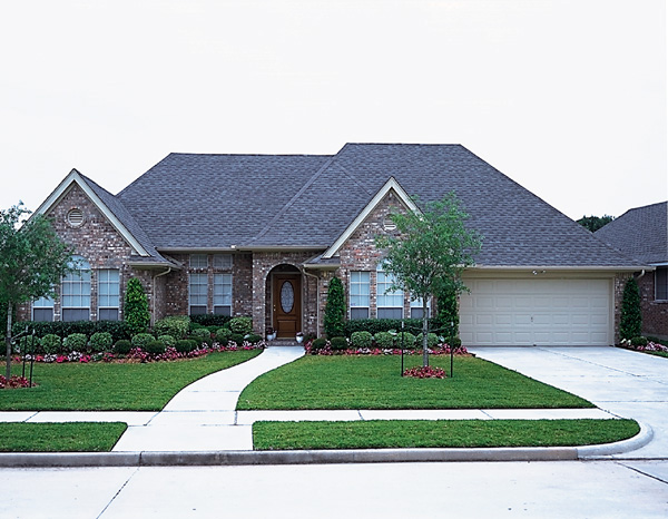European, One-Story House Plan 95575 with 3 Beds, 2 Baths, 2 Car Garage Picture 1