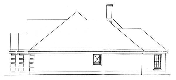 European House Plan 95587