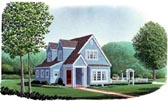 Plan Number 95600 - 1281 Square Feet