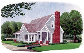 Country Craftsman House Plan 95601 Elevation