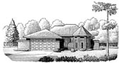 Plan Number 95603 - 1357 Square Feet