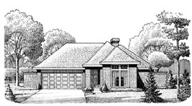 House Plan 95605 Elevation