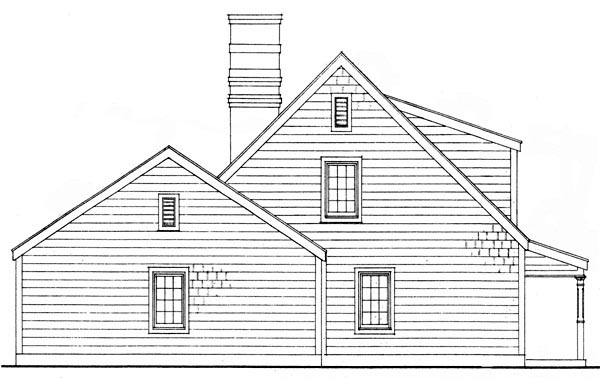 Bungalow, Country, Craftsman House Plan 95607 with 3 Beds, 2 Baths, 2 Car Garage Picture 2