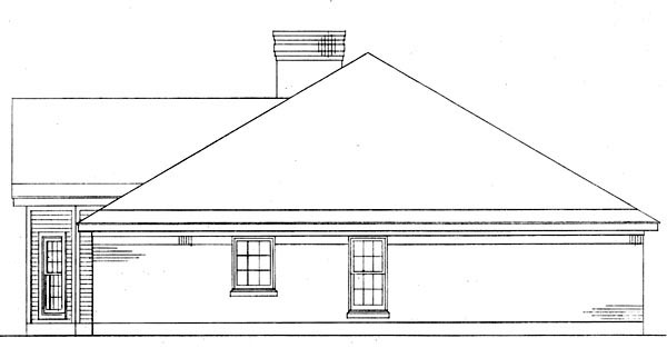 Country Victorian House Plan 95614