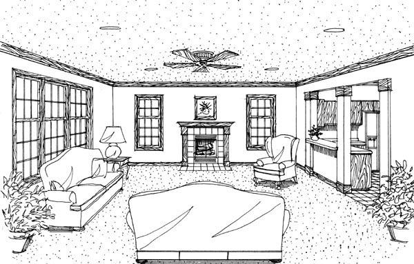 Cottage Craftsman House Plan 95617