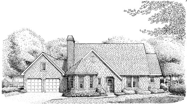 Craftsman House Plan 95622 Elevation