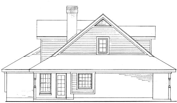 House Plan 95627 | Country Farmhouse Southern Style Plan with 1783 Sq Ft, 3 Bedrooms, 3 Bathrooms