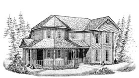 Plan Number 95630 - 1848 Square Feet