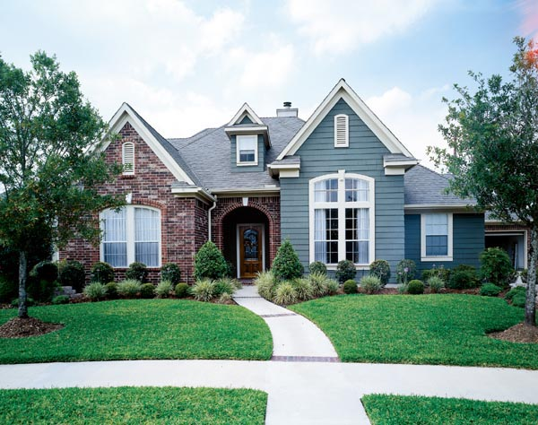 Craftsman , European House Plan 95640 with 3 Beds, 5 Baths, 2 Car Garage Elevation