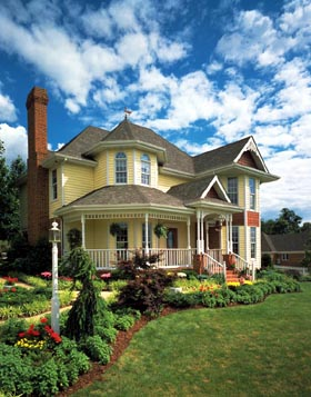 Country Farmhouse Victorian House Plan 95647 Elevation