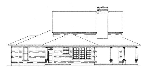 Country Craftsman Farmhouse House Plan 95650