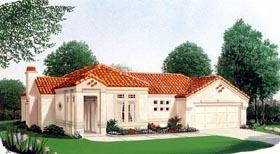 Southwest House Plan 95662 Elevation