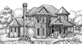 Country Farmhouse House Plan 95672 Elevation