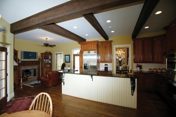 Country Farmhouse Southern House Plan 95679