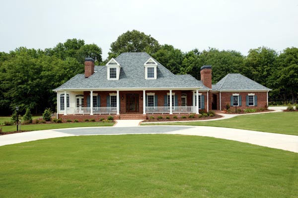 House Plan 95679 | Country Farmhouse Southern Style Plan with 3050 Sq Ft, 4 Bedrooms, 4 Bathrooms, 2 Car Garage