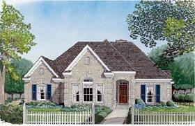 European House Plan 95694 Elevation