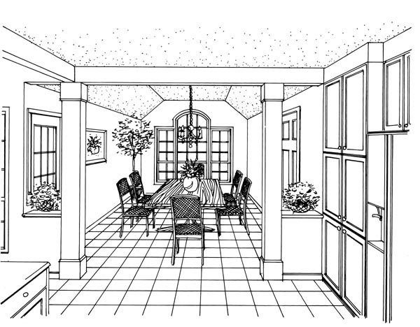 European House Plan 95699