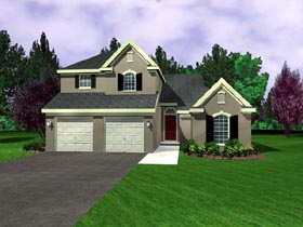 Plan Number 95703 - 1831 Square Feet