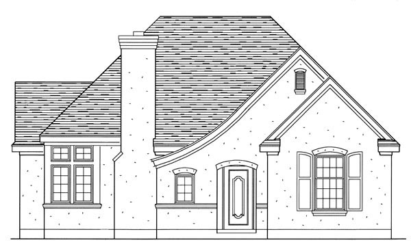 European House Plan 95710