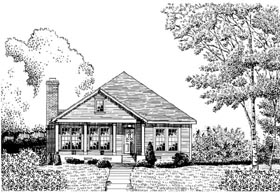 Country House Plan 95712 Elevation