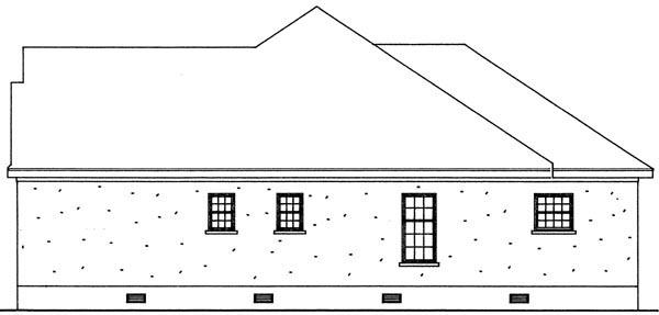 Bungalow Cottage Craftsman House Plan 95713