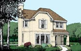 Plan Number 95715 - 1747 Square Feet