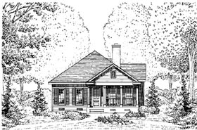 Country House Plan 95722 Elevation