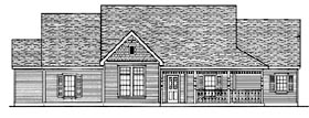 Country House Plan 95726 Elevation