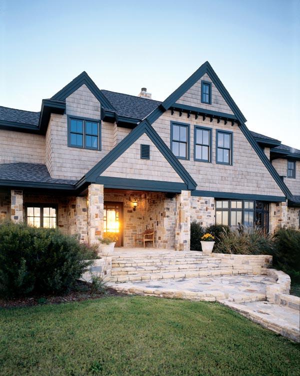 Craftsman European House Plan 95733